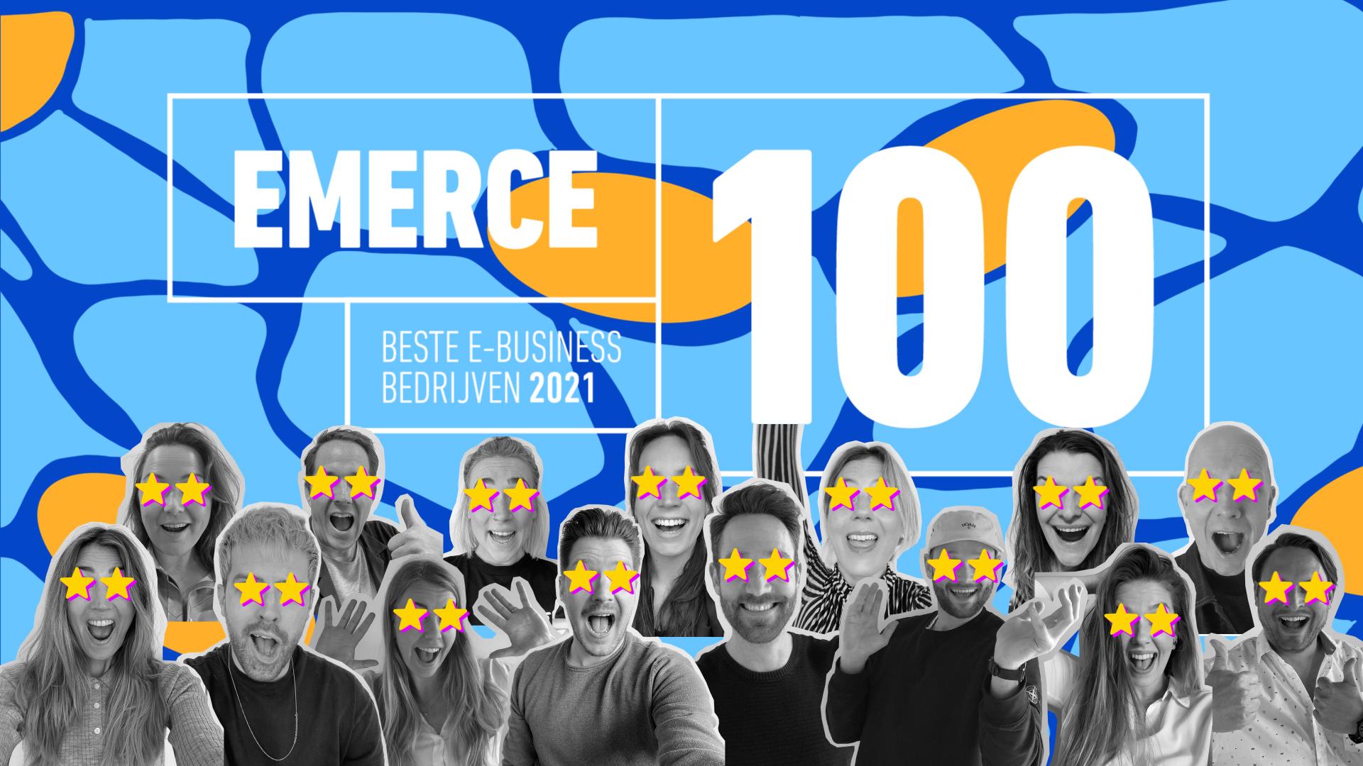 SOCIAL.INC nummer 1 social en content bureau volgens Emerce100